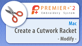 Create a Cutwork Racket