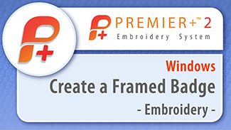 Create a Framed Badge