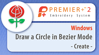 Draw a Circle in Bezier Mode
