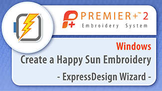 Create a Happy Sun Embroidery