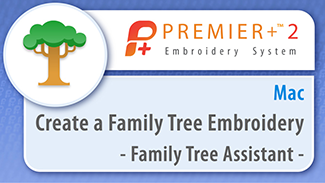 Create a Family Tree Embroidery
